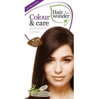 Vopsea permanenta fara amoniac, colour & care, 4.03 mocha brown, hairwonder