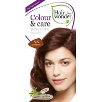 Vopsea permanenta fara amoniac, colour & care, 5.5 mahogany, hairwonder