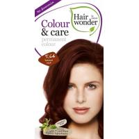Vopsea permanenta fara amoniac, colour & care, 5.64 henna red, hairwonder