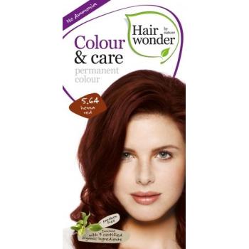Vopsea permanenta fara amoniac, colour & care, 5.64 henna red, hairwonder  40+20 ml HENNAPLUS