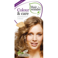 Vopsea permanenta fara amoniac, colour & care, 7 medium blond, hairwonder