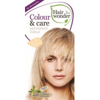 Vopsea permanenta fara amoniac, colour & care, 9 very light blond, hairwonder