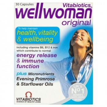 Wellwoman original 30 cps VITA BIOTICS