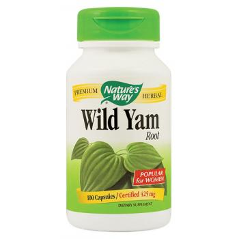 Wild yam root 100 cps NATURES WAY