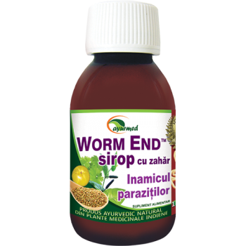 Worm end, inamicul parazitilor 100 ml AYURMED