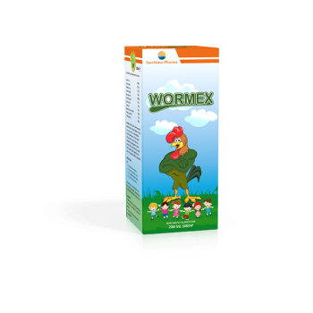 Wormex sirop 200 ml SUN WAVE PHARMA