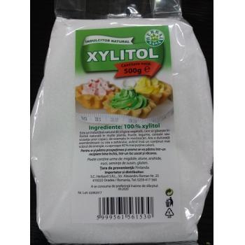 Xylitol indulcitor natural 500 gr HERBALSANA