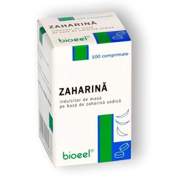 Zaharina 100 cpr BIOEEL