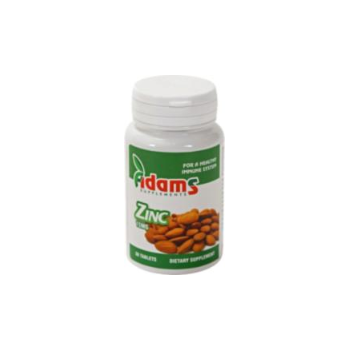 Zinc 50mg  120 tbl ADAMS SUPPLEMENTS