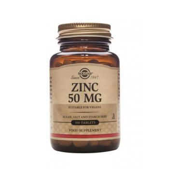Zinc gluconate 50 mg 100 tbl SOLGAR