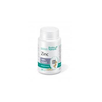 Zinc natural 30 cps ROTTA NATURA