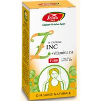 Zinc + vitamina d3 30cpr FARES